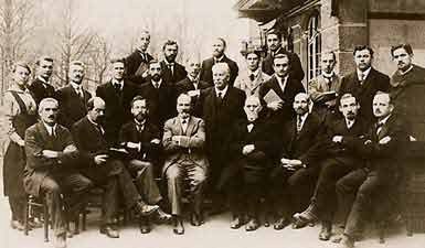 Image of the delegates to the first international convention of SDA Reformers.